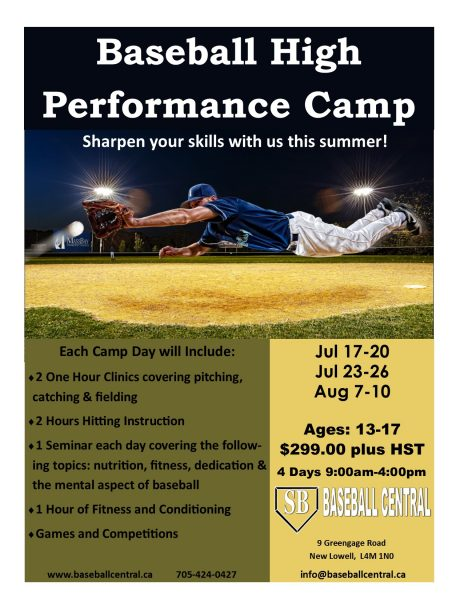 High Performance Camp