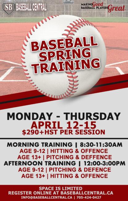 2021 Spring Training Camp